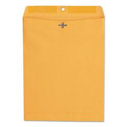 Universal Office Products Kraft Clasp Envelope, #97, Squar Flap, Clasp/Gummed Closure, 10 x 13, Brown Kraft, 100/Box