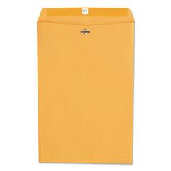Universal Office Products Kraft Clasp Envelope, #98, Square Flap, Clasp/Gummed Closure, 10 x 15, Brown Kraft, 100/Box