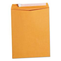 Universal Office Products Peel Seal Strip Catalog Envelope, #13 1/2, Square Flap, Self-Adhesive Closure, 10 x 13, Natural Kraft, 100/Box