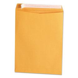 Universal Office Products Peel Seal Strip Catalog Envelope, #10 1/2, de Flap, Self-Adhesive Closure, 9 x 12, Natural Kraft, 100/Box
