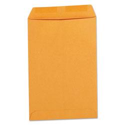 Universal Office Products Catalog Envelope, #1, Square Flap, Gummed Closure, 6 x 9, Brown Kraft, 500/Box