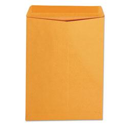 Universal Office Products Catalog Envelope, #10 1/2, Square Flap, Gummed Closure, 9 x 12, Brown Kraft, 250/Box