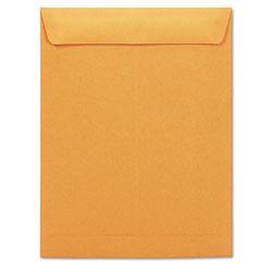 Universal Office Products Catalog Envelope, #13 1/2, Square Flap, Gummed Closure, 10 x 13, Brown Kraft, 250/Box