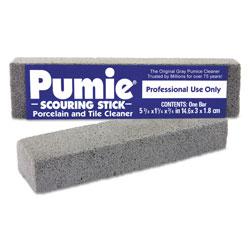U.S. Pumice Scouring Stick, Pumie, Gray Pumice, 5 3/4 x 3/4 x 11/4, 12 per Box