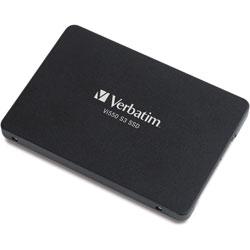 Verbatim Internal SSD, 2.5 in, 560MB/s Read/535MB/s Write, 128GB, Black