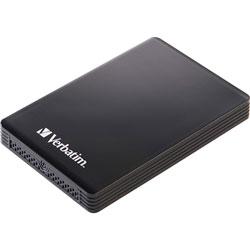 Verbatim 256GB Vx460 External SSD, USB 3.1 Gen 1 - Black - Notebook Device Supported - USB 3.1 (Gen 1) - 2 Year Warranty - 1 Pack