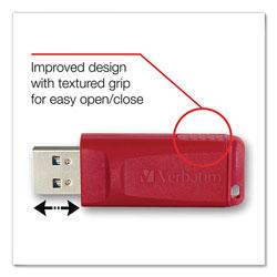 Verbatim Store 'n' Go USB Flash Drive, 4 GB, Red