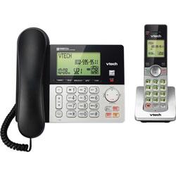 Vtech Corded/Cordless Phone System, Full Duplex, DECT 6.0, Multi