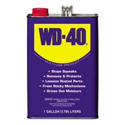 WD-40 Heavy-Duty Lubricant, 1 Gallon Can, 4/Carton